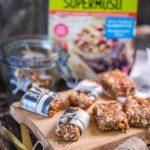Müslibatoonid maapähklivõiga